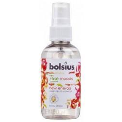 Spray Odświeżacz Zapachowy do pomieszczeń Bolsius True Moods New Energy Cytrusy & Imbir 75 ml