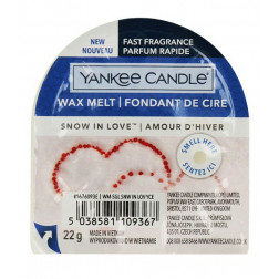 Wosk zapachowy do kominków Yankee Snow in Love Śnieg