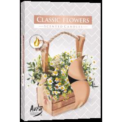 Podgrzewacze zapachowe Classic Flowers 6 sztuk p15-336