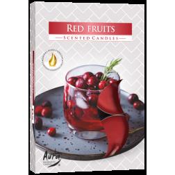 Podgrzewacze zapachowe Red Berries 6 sztuk p15-332