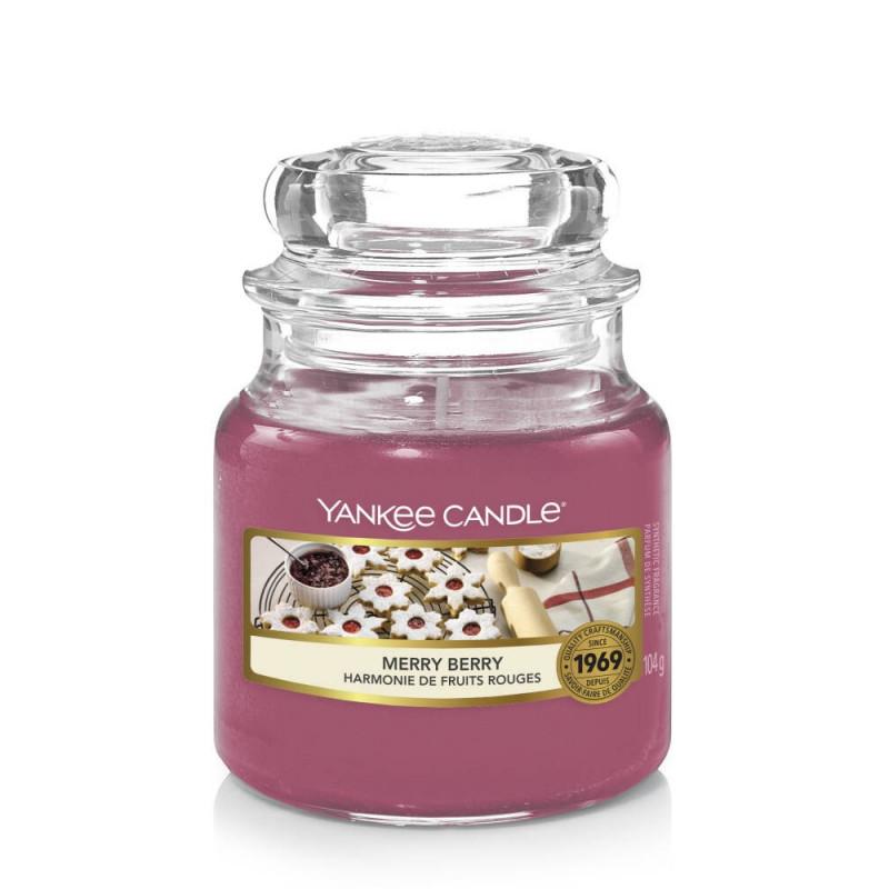 Yankee Candle Merry Berry Mała świeca zapachowa Święta 2021