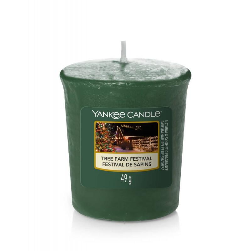 Yankee Candle Tree Farm Festival Świeca Votive Sampler