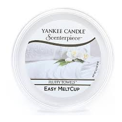 Wosk do kominków elektrycznych Yankee Fluffy Towels Melt Cup Scenterpiece Puszysty Ręcznik