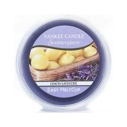 Wosk do kominków elektrycznych Yankee Lemon Lavender Melt Cup Scenterpiece Cytrusowa Lawenda