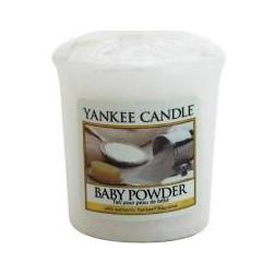 Yankee Candle Baby Powder  Votive świeca zapachowa Pudrowy