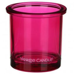 Ozdobny słoik osłonka świecznik Pink Yankee POP na świecę votive lub tealight