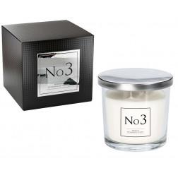 Świeca Zapachowa w Szkle z Dwoma Knotami No3