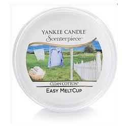 Wosk do kominków elektrycznych Yankee Clean Cotton  Melt Cup Scenterpiece