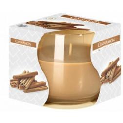 Świeca Zapachowa w Szkle Cynamon Cinnamon Bispol