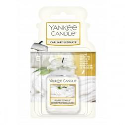 Yankee Candle Fluffy Towels Ultimate Car Jar Zapach Samochodowy Świeży