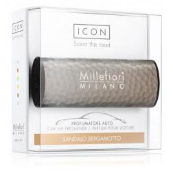Millefiori Car Icon zapach samochodowy Hammered Metal Sandalo Jesień