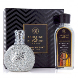 Zestaw Prezentowy Ashleigh & Burwood Lampa Zapachowa MAŁA Twinkle Star + Płyn  Moroccan Spice 250 ml