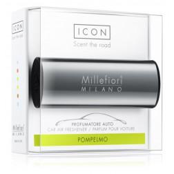 Millefiori Car Icon zapach samochodowy Shiny Antracite Pompelmo