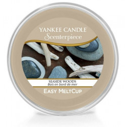 Wosk do kominków elektrycznych Yankee Seaside Woods Melt Cup Scenterpiece
