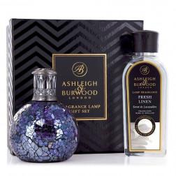 Zestaw Prezentowy Ashleigh & Burwood Lampa Zapachowa MAŁA All Because +Płyn  Fresh Linen 250 ml...