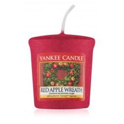 Yankee Candle Red Apple Wreath Votive świeca zapachowa Święta