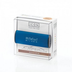 Millefiori Car Icon zapach samochodowy Classic Blue Legni & Spezie