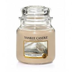 Yankee Candle Warm Cashmere średnia świeca zapachowa