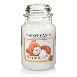 Yankee Candle Soft Blanket  Duża świeca zapachowa