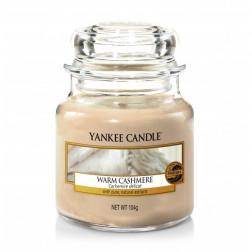Yankee Candle Warm Cashmere mała świeca zapachowa